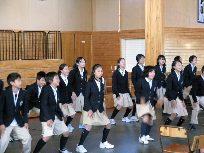 Junior High Shool Full Immersion November 09 World Class Groups
