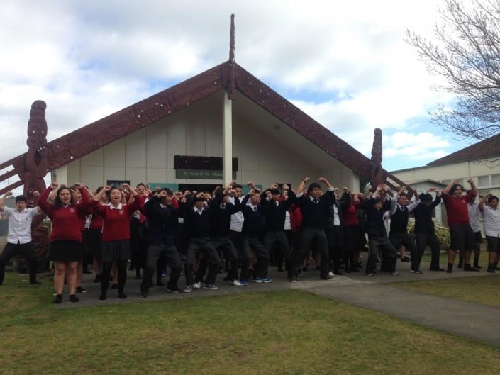 Manawatu marae welcome World Class Groups